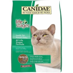 CANIDAE Life Stages All Life Stages Formula Dry Cat Food, 8-lb Bag.