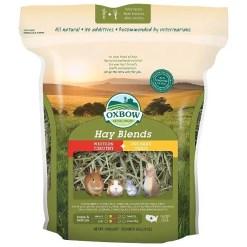 Oxbow Western Timothy & Orchard Hay Small Animal Food, 20-oz Bag.