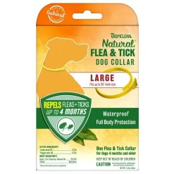 TropiClean Flea & Tick Collar for Large Dogs.