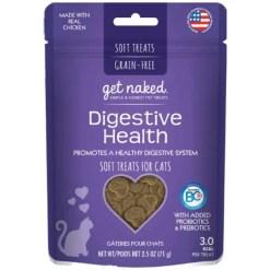 Get Naked Digestive Health Soft Cat Treats, 2.5-oz Bag.