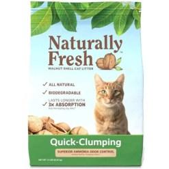 Naturally Fresh Unscented Clumping Walnut Cat Litter, 14-lb Bag SKU 5024422002