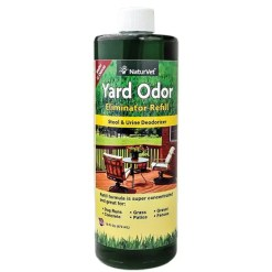 NaturVet Yard Odor Eliminator Refill, 16-oz Bottle.
