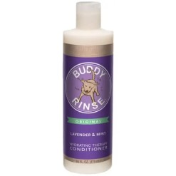 Buddy Wash Original Lavender & Mint Dog Conditioner Rinse, 16-oz Bottle.