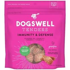 Dogswell Tenders Immunity & Defense Chicken Recipe Grain-Free Dog Treats, 12-oz Bag.