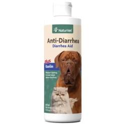 NaturVet Anti-Diarrhea Dog & Cat Liquid Supplement, 8-oz Bottle.