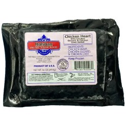Halshan Premium Raw Food Chicken Organ Pet Food, 1-lb.