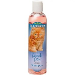 Bio-Groom Kuddly Kitty Tearless Cat Shampoo, 8-oz Bottle.