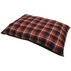 Petmate Aspen Plaid Pillow Pet Bed.