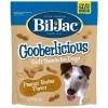 Bil-Jac Gooberlicious Peanut Butter Flavor Soft Dog Treats, 10-oz Bag.