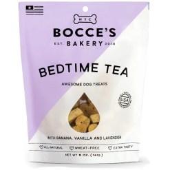 Bocce's Bakery Bedtime Tea Banana, Vanilla & Lavender Dog Treats, 5-oz Bag.