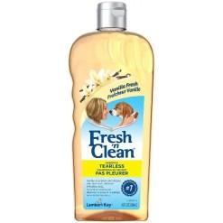 Fresh n Clean Tearless Puppy Vanilla Scented Shampoo, 18-oz Bottle.