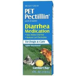 PetAg Pet Pectillin Diarrhea Medication Dogs & Cat Supplement, 4-oz.