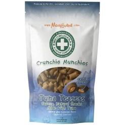 Meowijuana Crunchie Munchie Tuna Cat Treat, 3-oz Bag.