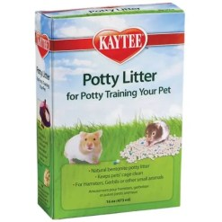 Kaytee Potty Litter for Small Animals, 16-oz Box.