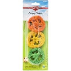 Kaytee Crispy Chews Small Animal Toy, 3 Pack.