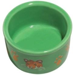 Kaytee Paw-Print PetWare Bowl, Hamster, Colors Vary.