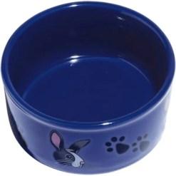 Kaytee Paw-Print PetWare Bowl, Bunny, Colors Vary.