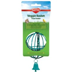 Kaytee Veggie Basket Treat Holder