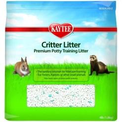 Kaytee Small Animal Critter Litter, 4-lb Bag.