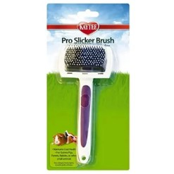 Kaytee Small Animal Pro-Slicker Brush.