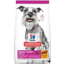 Science Diet Adult 7+ Small Paws Chicken Meal, Barley & Brown Rice Recipe Dry Dog Food, 4.5-lb.