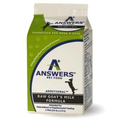 Answers Frozen Raw Fermented Raw Goat Milk, 16-oz.