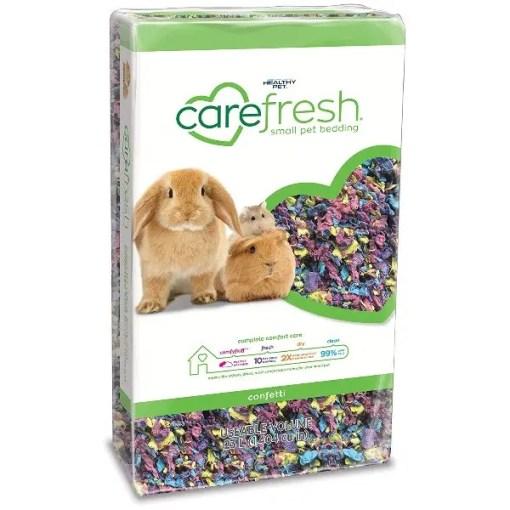 Carefresh Small Animal Bedding, Confetti, 23-L.