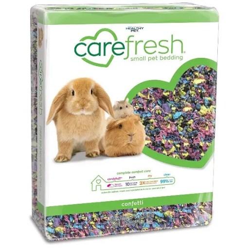 Carefresh Small Animal Bedding, Confetti, 50-L.