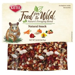 Kaytee Food From the Wild Natural Snack Hamster & Gerbil Treats, 2-oz Bag.