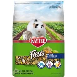 Kaytee Fiesta Gourmet Variety Diet Mouse & Rat Food, 2-lb Bag