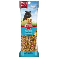 Kaytee Forti-Diet Pro Health Hamster and Gerbil Honey Treat Sticks, 8-oz.