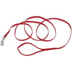 Coastal Single-Ply Dog Leash, Red.