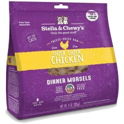 Stella & Chewy's Chick Chick Chicken Dinner Morsels Freeze-Dried Raw Cat Food, 8-oz.