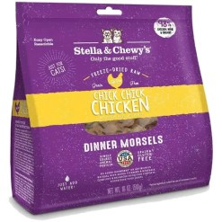 Stella & Chewy's Chick Chick Chicken Dinner Morsels Freeze-Dried Raw Cat Food, 18-oz.