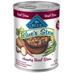 Blue Buffalo Blue's Hearty Beef Stew Grain Free Canned Dog Food, 12.5-oz, Case of 12 SKU 4024311259