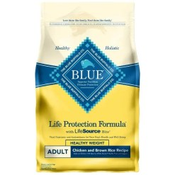 Blue Buffalo Life Protection Formula Healthy Weight Adult Chicken & Brown Rice Recipe Dry Dog Food, 6-lb SKU 5961000002