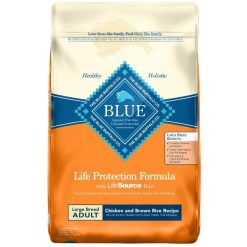 Blue Buffalo Life Protection Large Breed Adult Chicken & Brown Rice Recipe Dry Dog Food, 30-lb SKU 5961000038