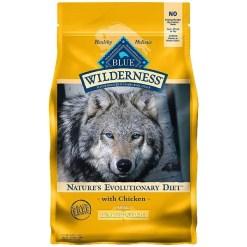 Blue Buffalo Wilderness Healthy Weight Chicken Recipe Grain-Free Dry Dog Food, 4.5-lb SKU 5961000632