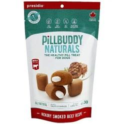 Presidio Pill Buddy Hickory Smoked Beef Recipe Pill Hiding Treats for Dogs, 30 Count SKU 5985500641