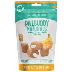 Presidio Pill Buddy Peanut Butter & Banana Recipe Pill Hiding Treats for Dogs, 30 Count SKU 5985500611