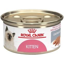 Royal Canin Feline Health Nutrition Loaf in Sauce Canned Kitten Food, 5.8-oz SKU 3011141015