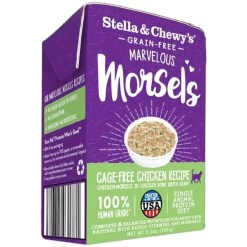 Stella & Chewy's Marvelous Morsels Cage Free Chicken Recipe Wet Cat Food, 5.5-oz SKU 5230100829