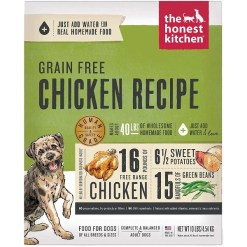 The Honest Kitchen Chicken Recipe Grain-Free Dehydrated Dog Food, 10-lb, Makes 40-lb SKU 8341300006