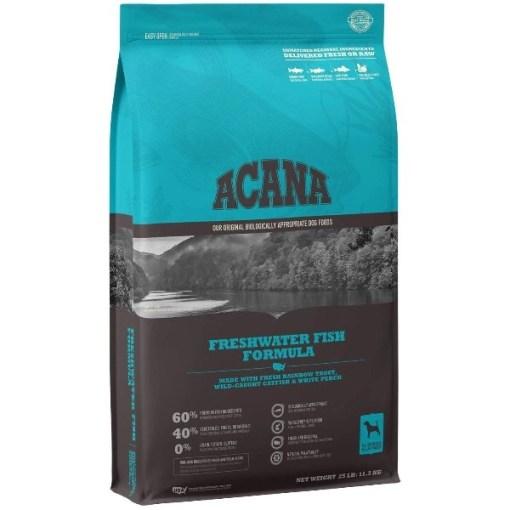 ACANA Freshwater Fish Formula Dry Dog Food, 25-lb SKU 6499250225
