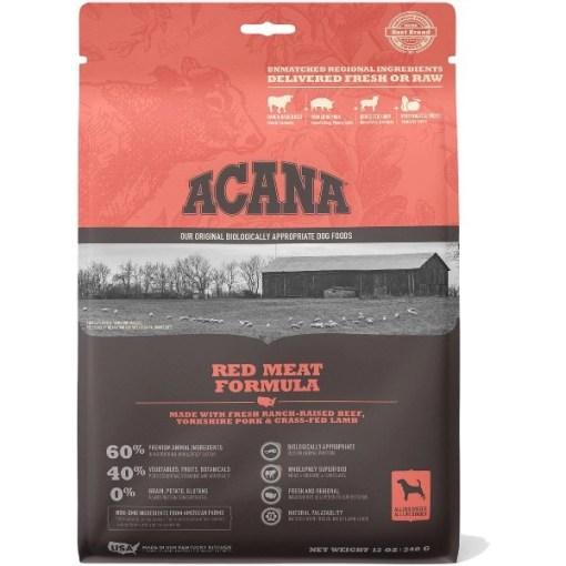 ACANA Red Meat Formula Dry Dog Food, 12-oz SKU 6499250345