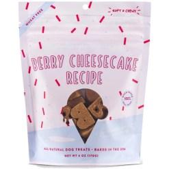 Bocce's Bakery Berry Cheesecake Recipe Dog Treats, 6-oz