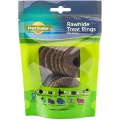 Busy Buddy Natural Rawhide Rings Dog Treats, Size B SKU 5902308490