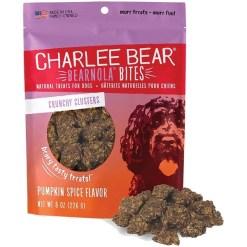Charlee Bear Bearnola Bites Pumpkin Spice Flavor Dog Treats, 8-oz SKU 8710800689