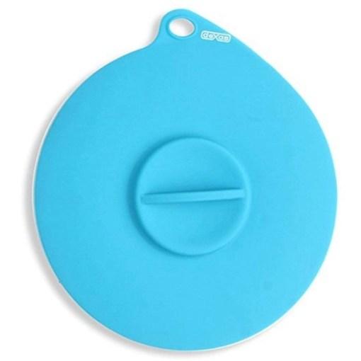 Dexas Popware Flexible Suction Pet Food Lid, Blue SKU 8429730947