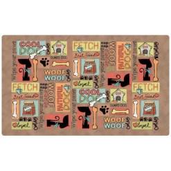 Drymate Cool Dog Pet Placemat, Brown SKU 5803577071